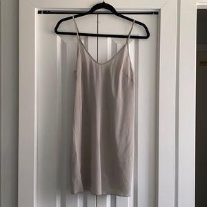 Wilfred silk slip dress